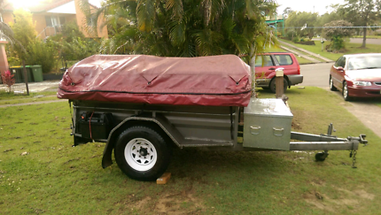 Camper trailer, will also swap for a trailer and cash my way