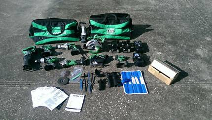 Hitachi 15 Piece cordless 18volt kit *AS NEW* $1500 firm Geelong 3220 Geelong City Preview