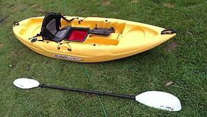 Malibu Mini-X Kayak With Seat Support & Brand New Paddle Labrador Gold Coast City Preview