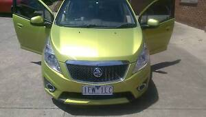 2012 Holden Barina Spark Hatchback Moonee Ponds Moonee Valley Preview