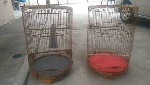 Fs:Bamboo bird cages Lidcombe Auburn Area Preview