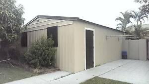 Double Metal Garage Shed North Strathfield Canada Bay Area Preview