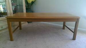 NOBLETT SOLID TEAK COFFEE TABLE Moonta Bay Copper Coast Preview