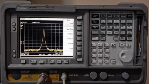 Keysight Agilent E4402B Spectrum Analyzer 1DS,1D5,1DR,229,226,B7D,B7E,BAA,J36...