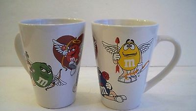 Price Reduced!!! PAIR M&M MUGS Official Licensed Product](M&m Couple)