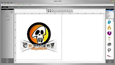 The LogoMaker v.2.0 Logo Software *Custom Logo Designer*