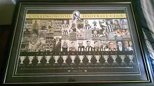Collinwood Football Club Limited Edition Print Brunswick East Moreland Area Preview