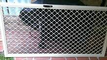 Diamond Grill Security Doors (7mm) x2 (Sliding and Hinged) Birkdale Redland Area Preview