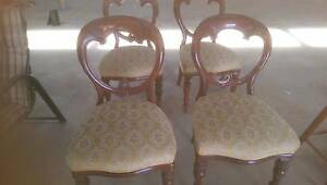 Antique Balloon Back Chairs Moama Murray Area Preview