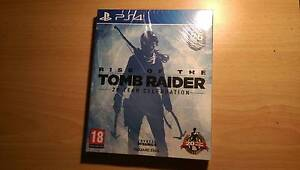 Rise of The Tomb Raider PS4 Cordeaux Heights Wollongong Area Preview