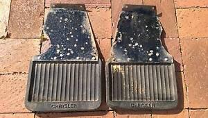 Genuine Chrysler Valiant VG Mud Flaps Rear Flinders Park Charles Sturt Area Preview
