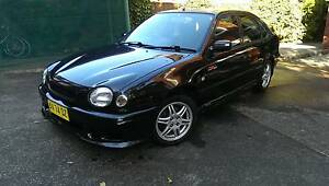 1998 Toyota Corolla TTE special edition Cammeray North Sydney Area Preview