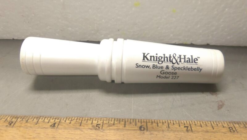 Knight & Hale - Snow, Blue and Specklebelly Goose Call - Model 227