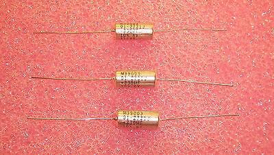 Qty 5 330uf 6v 10 Mil-spec Axial Tantalum Capacitors M3900301-2731 Kemet
