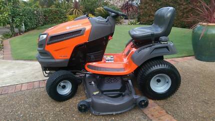HUSQVARNA RIDE ON LAWNMOWER 54 INCH  MOWER - BRIGGS AND STRATTON Mount Colah Hornsby Area Preview