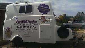 2009 Savel Mobile Dog Grooming Trailer+Gear Pack - Good Condition Newcastle Newcastle Area Preview
