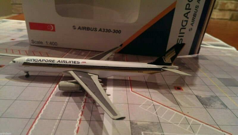 JC Wings Singapore Airlines A330-343E 1:400 - JC4SIA928 9V-STO
