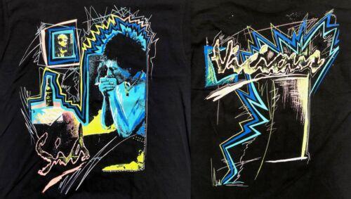 SID VICIOUS Neon 80s T-Shirt VINTAGE Black LARGE Sex Pistols PUNK Unworn