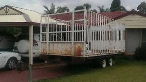 EXTRA LARGE DOUBLE AXEL TRAILER FOR SALE Minchinbury Blacktown Area Preview