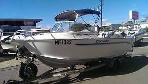 2000 5.5 Stessl Blue Water Runabout - 2004 115hp Johnson Outboard Findon Charles Sturt Area Preview