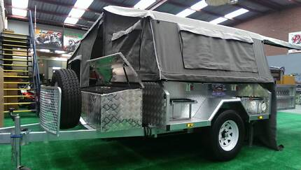 Off Road Galvanized Camper with Independent Suspension. PMX Canning Vale Canning Area Preview