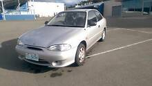 Reliable run-around or first car (1999 Hyundai Excel) Kingston Kingborough Area Preview