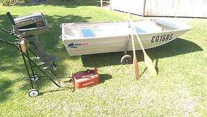 3m Quintrex tinny and 8hp Suzuki outboard Murray Bridge Murray Bridge Area Preview