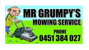 . Mr Grumpy.s.Lawn Mowing Service.And Block Slashing.Cockburn. Atwell Cockburn Area Preview