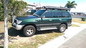 2000 Toyota LandCruiser Wagon Pacific Paradise Maroochydore Area Preview