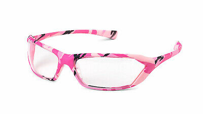 Gateway Metro Camo/Pink Clear Safety Glasses Womens Camouflage (Camo Glasses)