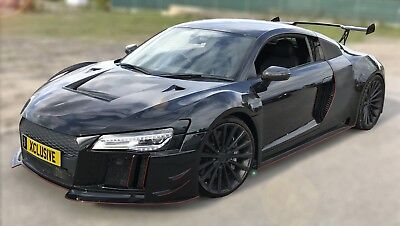 R8 Monster Body Kit Audi Wide body R8 accessories