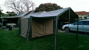 4 man tent with canopy Woodville South Charles Sturt Area Preview