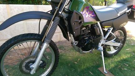 FOR SALE MY   KLR 250 ROAD TRAIL BIKE IN EXELLENT CONDITION