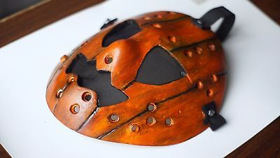 Jason Voorhees Friday the 13th Pumpkin Jason Custom mask Orange Hallowen mask - Hallowen Custom
