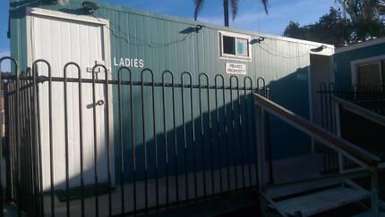 Demountable Toilet Block - Male & Female Partition - 3m x 6m Taren Point Sutherland Area Preview