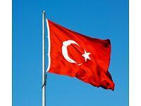 Turkish language via skype