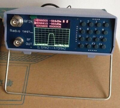 Uv Uhf Vhf Dual Band Spectrum Analyzer Wtracking Source 136-173mhz400-470mhz