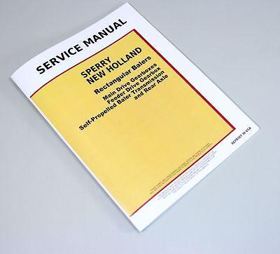 SPERRY NEW HOLLAND SQUARE BALER SERVICE MANUAL 1283 1290 1425 1426 BALERS REPAIR