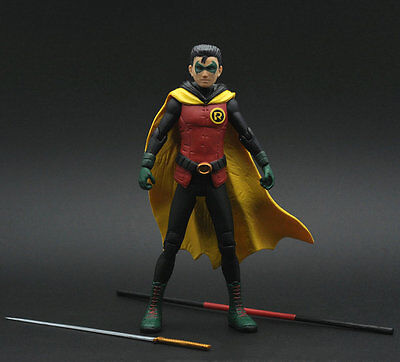 Batman Justice League DC Wayne Enterprise Damian as Robin Action Figure ZX456
