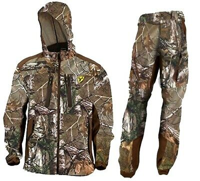 96bfabee20bf7 Scent Blocker Dead Quiet Suit Jacket & Pant Combo, Realtree Xtra, X-Large