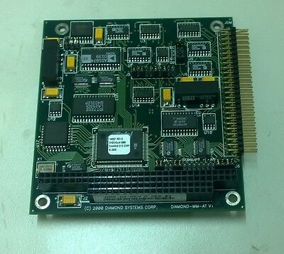 Diamond Systems Dmm-at 16 Channel 12-bit Analog Io Pc104 Board1110
