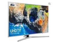 "55"" SAMSUNG Smart 4K Ultra HD HDR LED TV UE55MU6400 warranty and delivered"