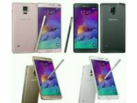 Unlocked Brand New Samsung Galaxy Note 4 32gb Open To All Networks All Colours Available