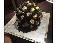 Luxury ferrero rocher table decoratives for wedding or any party
