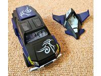 Playmobil wing door truck and jet