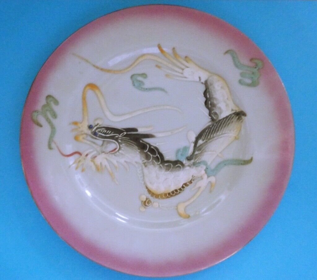 Japanese Moriage Dragonware trio with Geisha Lithophane PICK UP ONLY  Location: Bramhall, Stockport | in Bramhall, Manchester | Gumtree