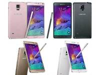 All Colours Available Samsung Galaxy Note 4 32gb Unlocked Fully Boxed Up