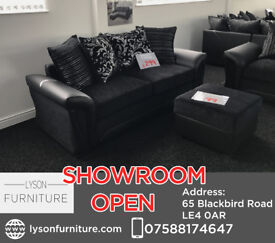 Shannon 3 Seater or 2 Seater - COME HAVE A LOOK AT OUR SHOWROOM IN LEICESTER