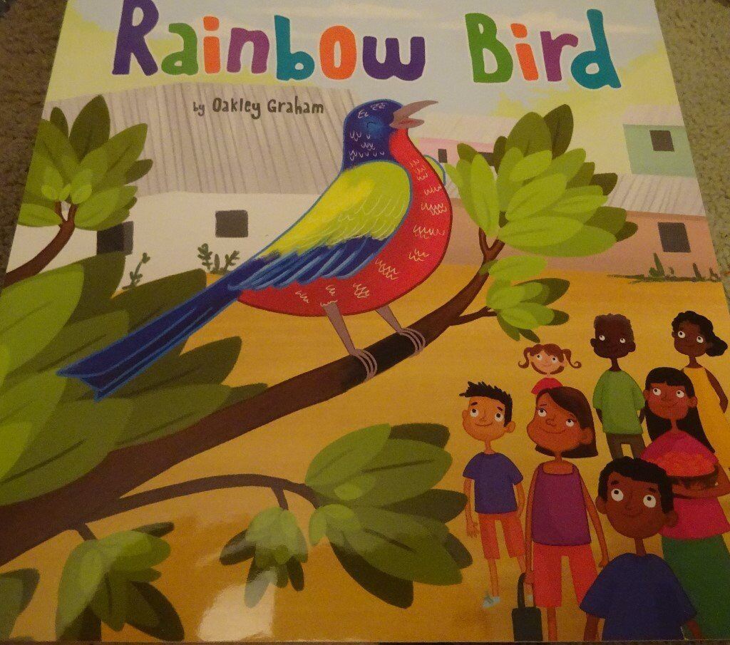 New Rainbow Bird children kids story book bedtime only £1 ideal xmas gift