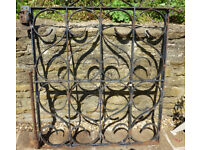 Hand Made Antique Wrought Iron Gate